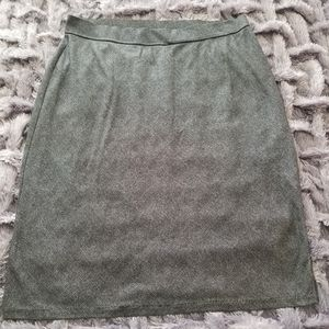 VENEZIA JEAN Lightweight poly/cotton a-line skirt